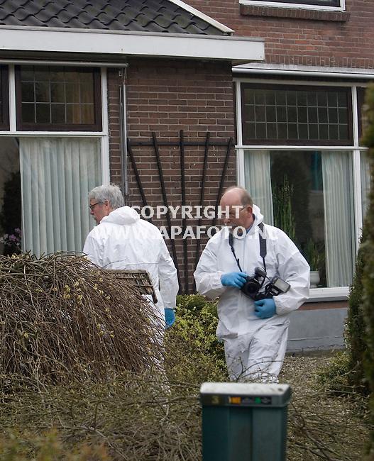 Veenendaal, 310308<br /> Moord op de parallelweg. <br /> Foto: Sjef Prins - APA Foto