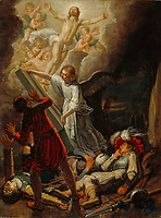 The Resurrection; Pieter Lastman, Dutch, about 1583 - 1633; 1612; Oil on oak panel