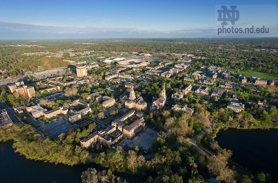 May 16, 2011; Aerial..Photo by Matt Cashore/University of Notre Dame