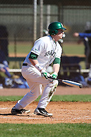 February 26, 2010:  First Baseman Jeff Holm of the Michigan State Spartans during the Big East/Big 10 Challenge at Raymond Naimoli Complex in St. Petersburg, FL.  Photo By Mike Janes/Four Seam Images