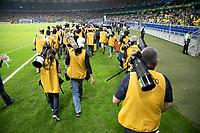 BELO HORIZONTE, MG, 02.07.2019-COPA AMÉRICA 2019 - BRASIL - ARGENTINA- Imprensa comparece em grande numero durante Partida entre Brasil e Argentina, válida pelas semifinais da Copa América 2019, no Estádio Mineirão em Belo Horizonte, MG, na noite desta terça-feira (02). (Foto: Giazi Cavalcante/Código19)