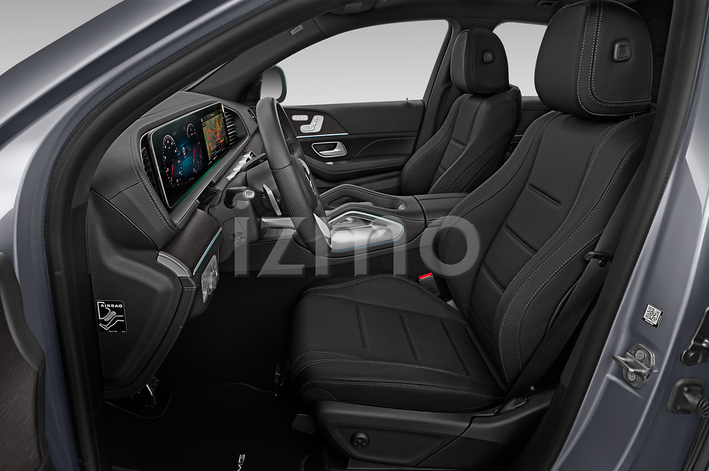 Front seat view of 2020 Mercedes Benz GLE - 5 Door SUV Front Seat  car photos