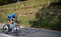 Carlos Verona (ESP/Movistar)<br /> <br /> Stage 16 from La Tour-du-Pin to Villard-de-Lans (164km)<br /> <br /> 107th Tour de France 2020 (2.UWT)<br /> (the 'postponed edition' held in september)<br /> <br /> ©kramon