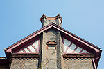 Imperial Maritime Customs Insignia Visible The Larger Residence At The End Of The Terrace, Yantai (Chefoo).
