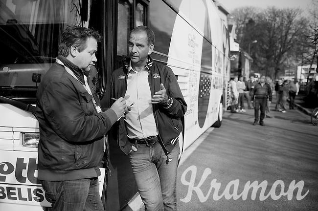 3 Days of De Panne.stage 2..Marc Sergeant interviewed.
