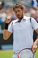 Netherlands, Rosmalen , June 08, 2015, Tennis, Topshelf Open, Autotron, Robin Haase (NED)<br /> Photo: Tennisimages/Henk Koster