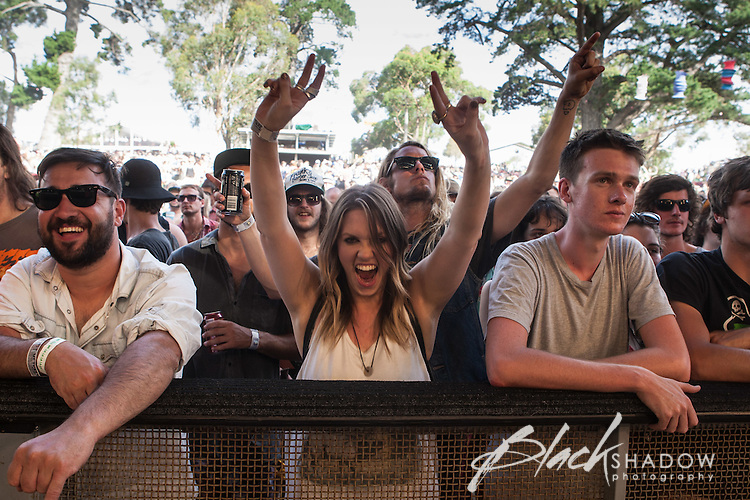 Meredith Music Festival 2012 held at the Meredith Supernatural Ampitheatre, 7-9 December 2012