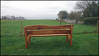BNPS.co.uk (01202 558833)Pic:  EvansFamily/BNPS.<br /> <br /> A memorial bench for a British man who died after being bitten by a sea snake in Australia has been erected at his favourite beauty spot.<br /> <br /> Harry Evans, 23, died in October last year in the freak accident while he worked on a relative's fishing trawler.<br /> <br /> As he unloaded nets the snake bit him on the thumb, triggering a fatal allergic reaction.<br /> <br /> Friends and family have now placed a bench outside a pub overlooking Studland Beach, Dorset, where Harry liked to go.