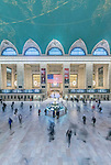 USA, NY, New York, Grand Central Terminal at Rush Hour