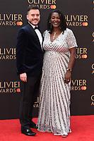 Sharon D Clarke<br /> arriving for the Olivier Awards 2019 at the Royal Albert Hall, London<br /> <br /> ©Ash Knotek  D3492  07/04/2019
