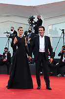 VENICE, ITALY - SEPTEMBER 02: Sveva Alviti and Anthony Delon walk the red carpet ahead of the Opening Ceremony and the Lacci red carpet during the 77th Venice Film Festival at on September 02, 2020 in Venice, Italy. PUBLICATIONxNOTxINxUSA Copyright: xAnnalisaxFlori/MediaPunchx <br /> ITALY ONLY