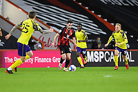 Lewis Cook of AFC Bournemouth brings the ball forward during AFC Bournemouth vs Huddersfield Town, Sky Bet EFL Championship Football at the Vitality Stadium on 12th December 2020