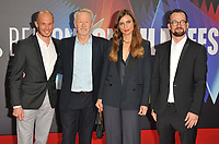 """guest, Paul Webster, Janine Jackowski and Jonas Dornbach at the 65th BFI London Film Festival """"Spencer"""" Headline gala, Royal Festival Hall, Belvedere Road, on Thursday 07th October 2021, in London, England, UK. <br /> CAP/CAN<br /> ©CAN/Capital Pictures"""