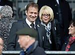 St Johnstone v Partick Thistle…28.04.18…  McDiarmid Park    SPFL<br />New SFA Chief Exec Ian Maxwell in the Thistle Directors box<br />Picture by Graeme Hart. <br />Copyright Perthshire Picture Agency<br />Tel: 01738 623350  Mobile: 07990 594431