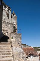 Europe/Europe/France/Midi-Pyrénées/46/Lot/Rocamadour: Le grand Escalier - Via Sancta - Voie sainte