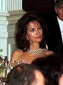 Actress Susan Lucci watches the entertainment at the Official Dinner for President Romano Prodi of Italy at The White House in Washington, D.C. on May 6, 1998..Credit: Ron Sachs / CNP