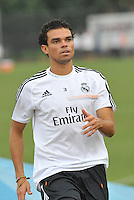 Saint Louis, MO August 1 2013<br /> Pepe.<br /> Real Madrid practiced at Herman Stadium on the campus of Saint Louis University ahead of their international friendly with Inter Milan at the Edward Jones Dome.