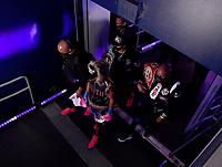 ARLINGTON, TX - DECEMBER 5: Errol Spence Jr. enters the stadium before his fight against Danny Garcia on Fox Sports PBC Pay-Per-View fight night at AT&T Stadium in Arlington, Texas on December 5, 2020. (Photo by Frank Micelotta/Fox Sports)