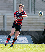 Monday 27th February 2017   ULSTER SCHOOLS CUP SEMI-FINAL<br /> <br /> Bruce Houston during the Ulster Schools Cup Semi-Final between RBAI and Ballymena Academy  at Kingspan Stadium, Ravenhill Park, Belfast, Northern Ireland. <br /> <br /> Photograph by John Dickson   www.dicksondigital.com