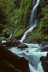 Boulder Creek Falls Washington State.