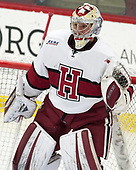 Michael Lackey (Harvard - 35) - The visiting Colgate University Raiders shut out the Harvard University Crimson for a 2-0 win on Saturday, January 27, 2018, at Bright-Landry Hockey Center in Boston, Massachusetts.