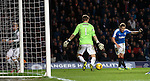 Martyn Waghorn scores the killer fourth goal for Rangers