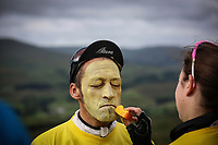 Picture by Tom Maddick/ rossparry.co.uk - Fans gather for the Tour De France in Buttertubs, North Yorkshire. Buttertubs marks the steepest section of the race, and most dangerous. - Thousands of cycling fans are gathering in Yorkshire for the royal send-off of the 2014 Tour de France, which begins in Leeds later.The three-week race returns to England for the first time since 2007, with two stages in Yorkshire and a third finishing in London on Monday.The 101st edition of the 2,277-mile, 21-stage race ends in Paris on 27 July. COPYRIGHT WARNING : THIS IMAGE IS RIGHTS MANAGED AND THE COPYRIGHT MAY SIT WITH A THIRD PARTY PLEASE CONTACT simon@swpix.com BEFORE DOWNLOAD AND OR USE
