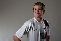 Dax McCarty. U20 men's national team portrait photoshoot before the start of the FIFA U-20 World Cup in Canada. June 22, 2007.