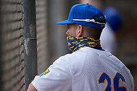 Pitt Panthers Ramon Padilla (26) during the teams opening game of the season against the Indiana State Sycamores on February 19, 2021 at North Charlotte Regional Park in Port Charlotte, Florida.  (Mike Janes/Four Seam Images)