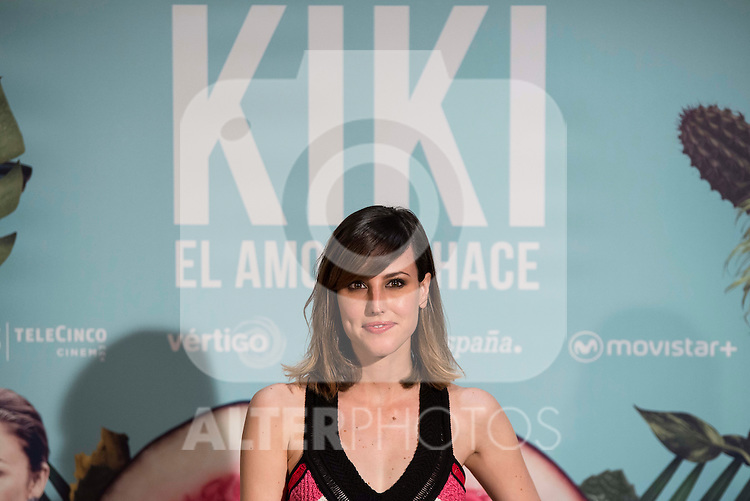"Natalia de Molina during the presentation of the spanish film ""Kiki, el amor se hace"" in Madrid . March 29, 2016. (ALTERPHOTOS/Borja B.Hojas)"