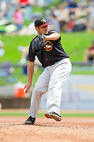 Quad Cities River Bandits starting pitcher Lance McCullers (23) in action against the West Michigan Whitecaps at Fifth Third Ballpark on May 5, 2013 in Comstock Park, Michigan.  The River Bandits defeated the Whitecaps 5-4.  (Brian Westerholt/Four Seam Images)