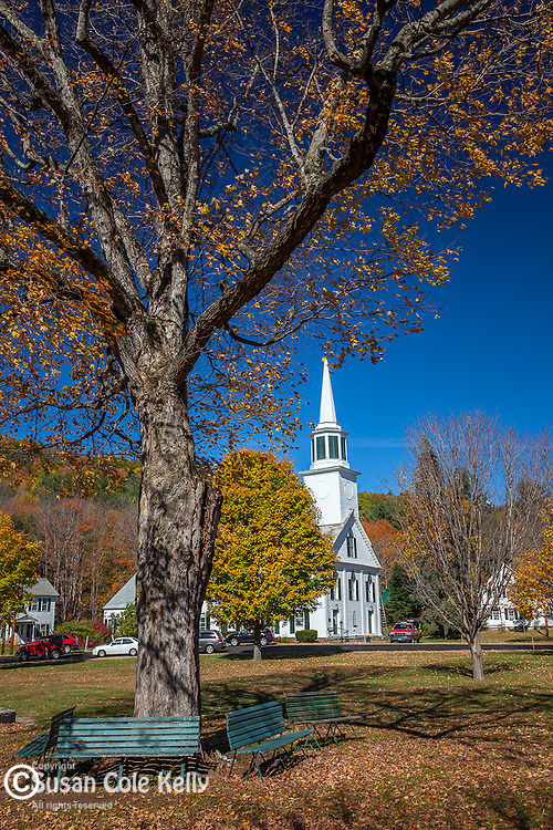 Autumn in Townshend, VT, USA