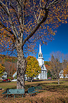 Autumn in Townshend, VT, USA