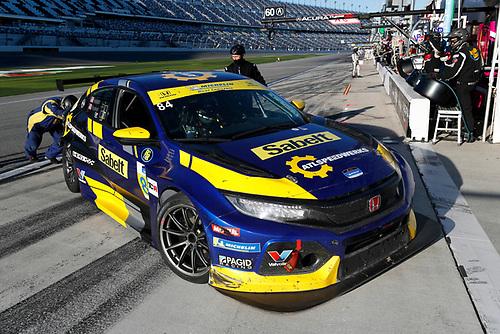 #84 Atlanta Speedwerks Honda Civic FK7 TCR, TCR: Pit Stop, Brian Henderson, Robert Noaker