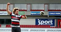 18th March 2021;  Jordi Murphy during Ulster Rugby Captain's Run held at Kingspan Stadium, Ravenhill Park, Belfast, Northern Ireland. Photo by John Dickson/Dicksondigital