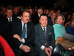 GIANCARLO GIANNINI CON ALBERTO SORDI <br /> ROMA 2002