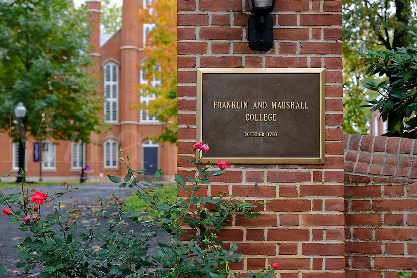 Franklin & Marshall college campus, Lancaster, Pennsylvania, USA