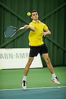 Rotterdam, Netherlands, Januari 28, 2017, ABNAMROWTT, Supermatch, rens Kamphuis/Sander?<br /> Photo: Tennisimages/Henk Koster