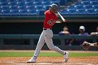 Jonathan Santucci (40) of Phillips Academy in Leominster, MA playing for the Boston Red Sox scout team during the East Coast Pro Showcase at the Hoover Met Complex on August 4, 2020 in Hoover, AL. (Brian Westerholt/Four Seam Images)