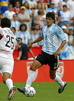 Luis Gonzalez, Argentina vs. USA, Miami, Fla.