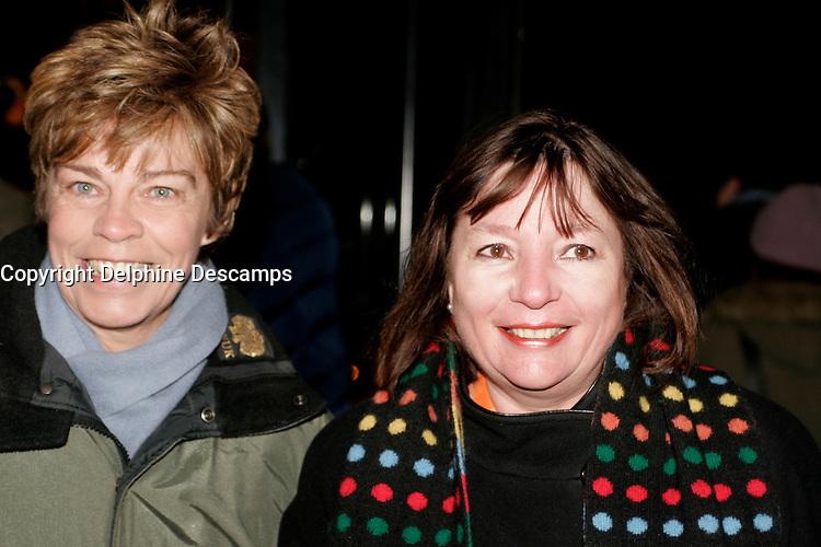 February 16 2006, Montreal (Qc) Canada<br /> Louise Beaudoin et Monique Simard   au cinema Imperial<br /> RV Cinema Quebecois<br /> Photo : Delphine Descamps / Images Distribution