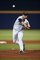 Peoria Javelinas starting pitcher Beau Sulser (26), of the Pittsburgh Pirates organization, during an Arizona Fall League game against the Surprise Saguaros on September 22, 2019 at Peoria Sports Complex in Peoria, Arizona. Surprise defeated Peoria 2-1. (Zachary Lucy/Four Seam Images)