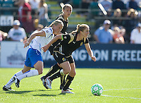 Rachel Buehler. FC Gold Pride defeated the Boston Breakers, 2-1, in their home opener on April 5, 2009 at Buck Shaw Stadium in Santa Clara, CA.