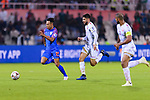 Udanta Singh Kumam of India (L) is followed by Hamad Mahmood Alshamsan of Bahrain (R) during the AFC Asian Cup UAE 2019 Group A match between India (IND) and Bahrain (BHR) at Sharjah Stadium on 14 January 2019 in Sharjah, United Arab Emirates. Photo by Marcio Rodrigo Machado / Power Sport Images