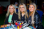 Enjoying the evening in Molly J's on Friday, l to r: Colette O'Mahoney, Sarah Costello and Amy Keane.