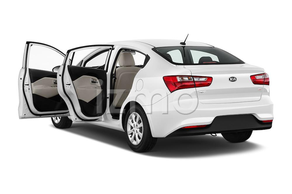 Car images of 2017 KIA Rio LX-AT 4 Door Sedan Doors