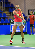 Rotterdam,Netherlands, December 15, 2015,  Topsport Centrum, Lotto NK Tennis, Mandy Wagemakers (NED)<br /> Photo: Tennisimages/Henk Koster