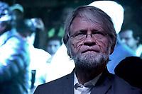 """BOGOTA - COLOMBIA, 27-05-2018: Antanas Mockus, uno de los senadores por la alianza verde. Las elecciones presidenciales de Colombia de 2018 se celebrarán el domingo 27 de mayo de 2018. El candidato ganador gobernará por un periodo máximo de 4 años fijado entre el 7 de agosto de 2018 y el 7 de agosto de 2022. / Antanas Mockus, one of the senators for the politic party """"Alianza Verde"""" . Colombia's 2018 presidential election will be held on Sunday, May 27, 2018. The winning candidate will govern for a maximum period of 4 years fixed between August 7, 2018 and August 7, 2022. Photo: VizzorImage / Nicolas Aleman / Cont"""