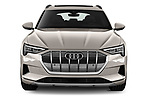 Straight front view of a 2019 Audi e-tron Advanced 5 Door SUV
