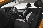 Front seat view of a 2015 Volkswagen Polo Cross 5 Door Hatchback 2WD Front Seat car photos